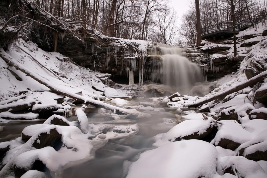 Great Falls winter