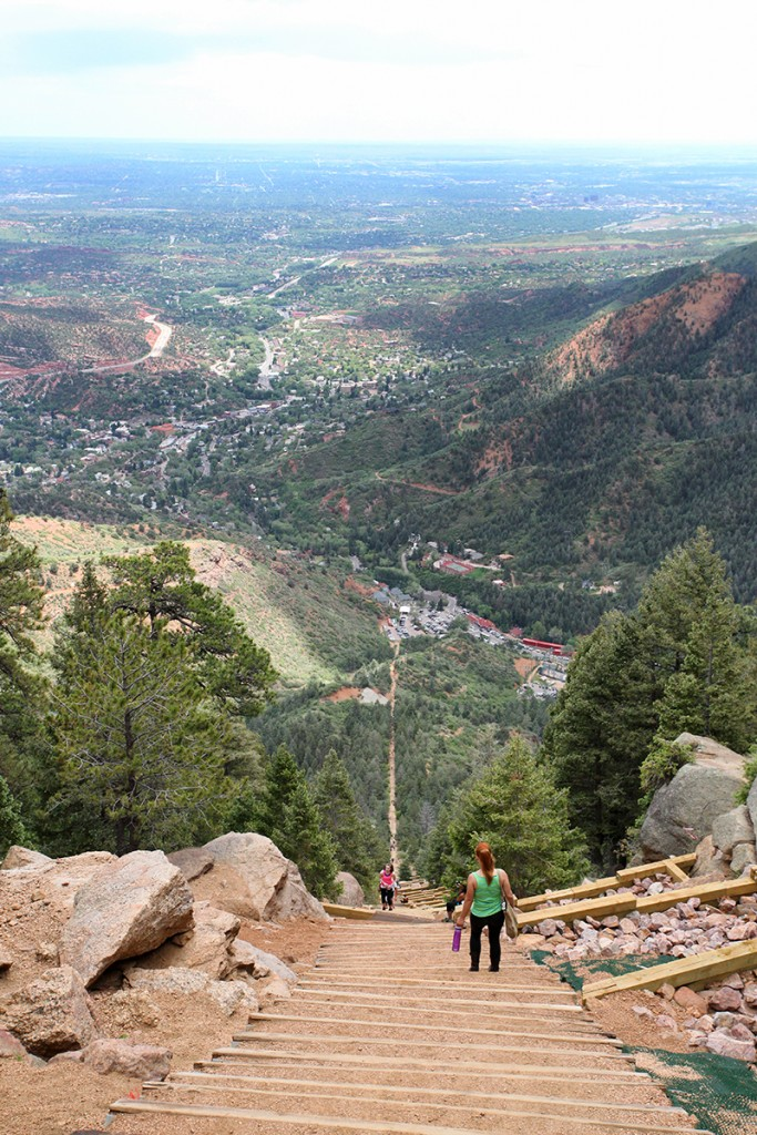 Manitou Incline, Colorado